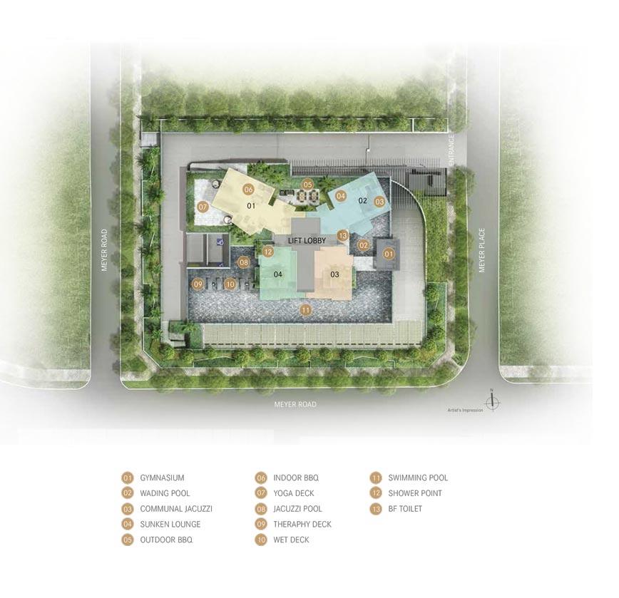 One-Meyer-east-coast-site-plan