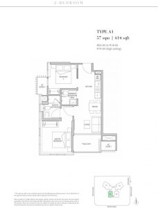 One-Meyer-East-Coast-floorplan-2-bedroom-type-A1